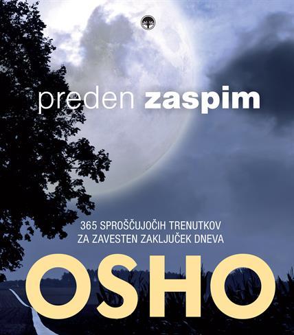 Podarjamo knjigo Osho: Preden zaspim